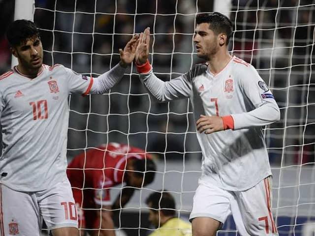 Euro Qualifiers: Alvaro Morata Double Gives Spain Victory Over Malta