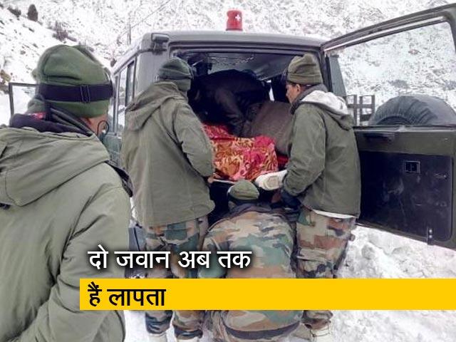 Videos : हिमाचल प्रदेश : बर्फीले तूफान में फंसे चौथे जवान का शव निकाला गया