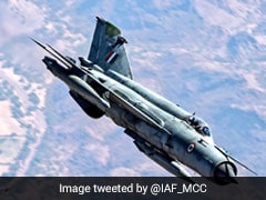 Air Force's MiG Fighter Jet Crashes In Rajasthan's Bikaner, Pilot Ejects