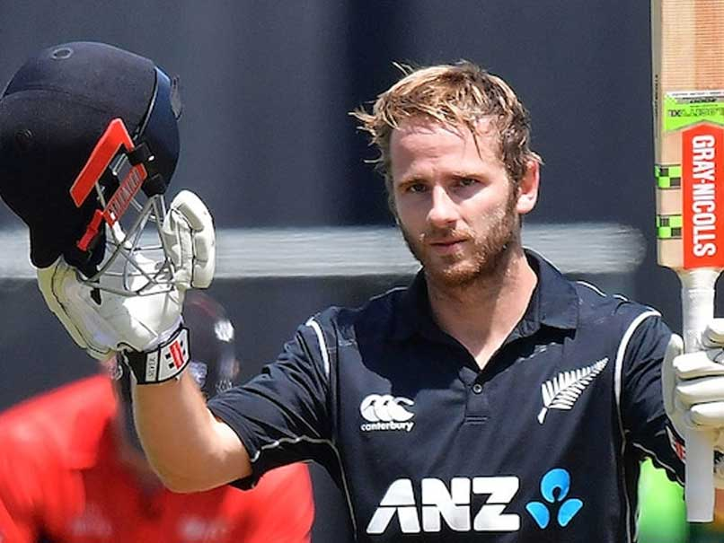 Kane Williamson Named Player Of The Year At New Zealand Cricket Awards
