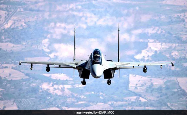 Defence Research Body Test Fires Guided Bomb From Sukhoi Combat Jet
