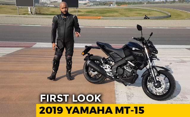 Video : 2019 Yamaha MT-15 First Look