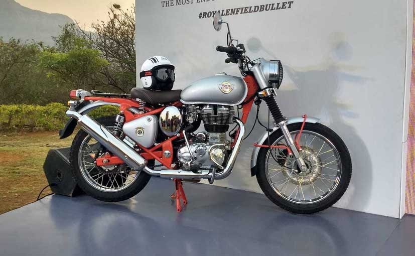 Royal Enfield Bullet Trials Works Replica 350 And 500 Launched In