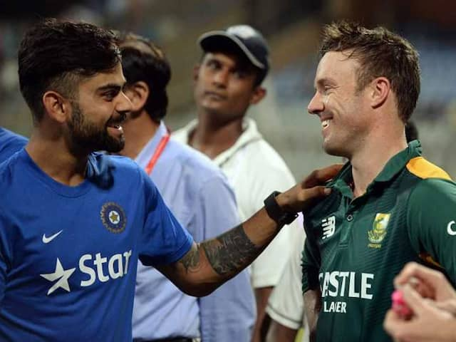 We Are Both Fighters And Dont Enjoy Losing Says AB De Villiers