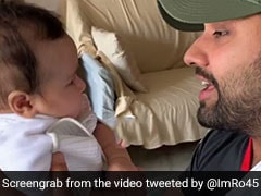 Watch: Amitabh Bachchan Reacts To Rohit Sharma's 'Gully Boy' Rap For Daughter Samaira