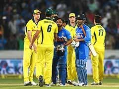 1st ODI: MS Dhoni, Kedar Jadhav Guide India To Six-Wicket Win Over Australia