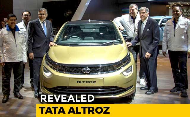 Video : 2019 Geneva Motor Show: Tata Altroz Premium Hatchback Revealed