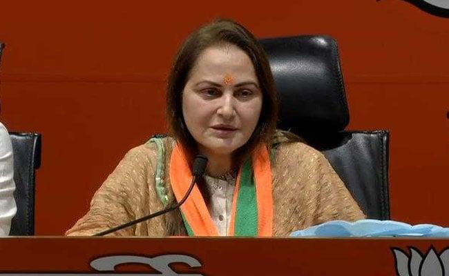 Jaya Prada Challenges Samajwadi Party's Azam Khan's Election From Rampur