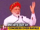 """Video : """"Use Common Sense"""": PM Snaps After Congress Rejoinder On Rafale Remark"""
