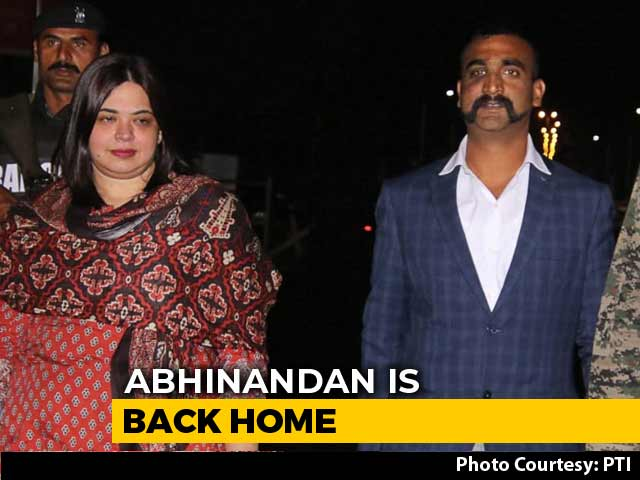 Video : PM Modi Tweets Welcome Message For Wing Commander Abhinandan