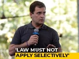 "Video : ""Investigate Robert Vadra But Don't Be Selective"": Rahul Gandhi"