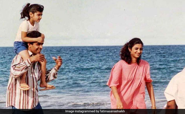 Fatima Sana Shaikh Shares Throwback Pic From The Sets Of Chachi 420, Featuring Tabu