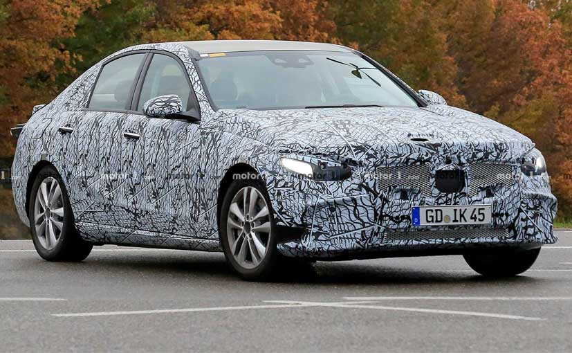 The next-gen Mercedes-Benz C-Class has been spotted testing along with the new S-Class.