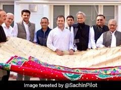 Rahul Gandhi Hands Over <i>''Chadar''</i> To Be Offered At Ajmer Sharif Dargah
