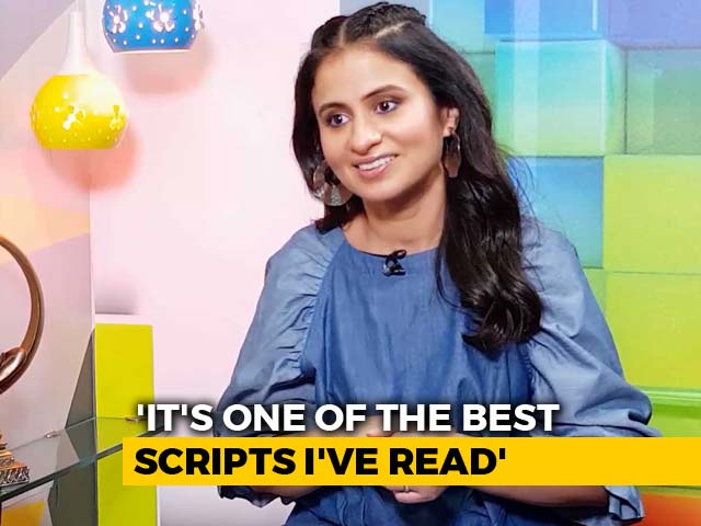 Video : <i>Delhi Crime</i> Is One Of The Best Scripts I've Read: Rasika Dugal