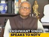 Video : BJP Better Than Opposition At Forming Alliances, Says Yashwant Sinha