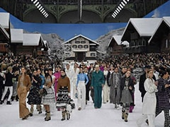 Chanel Says Goodbye To Karl Lagerfeld In Stunning Winter Wonderland