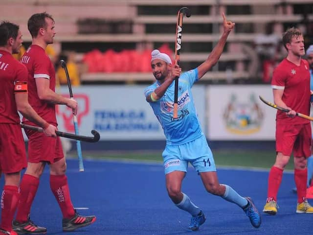 India Thrash Canada 7-3, Put One Foot In Sultan Azlan Shah Cup Final