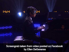 Chennai Teen Piano Prodigy Wows At <i>The Ellen Show</i>, Plays Blindfolded