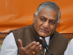 Grand Alliance No Threat To BJP, Says VK Singh In Ghaziabad