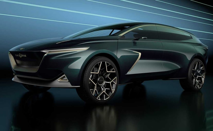 The batteries on the Lagonda All-Terrain Concept are stored on the floor