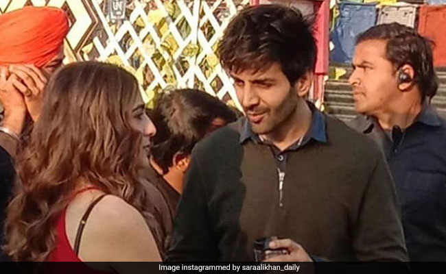 Trending: Pics Of Sara Ali Khan And Kartik Aaryan On The Sets Of Love Aaj Kal 2. Seen Yet?