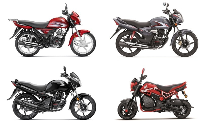 Honda Updates Commuter Range With Cbs Abs Ahead Of March 31