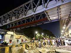 """Over 40 People May Have Fallen When Mumbai Bridge Collapsed"": Eyewitness"