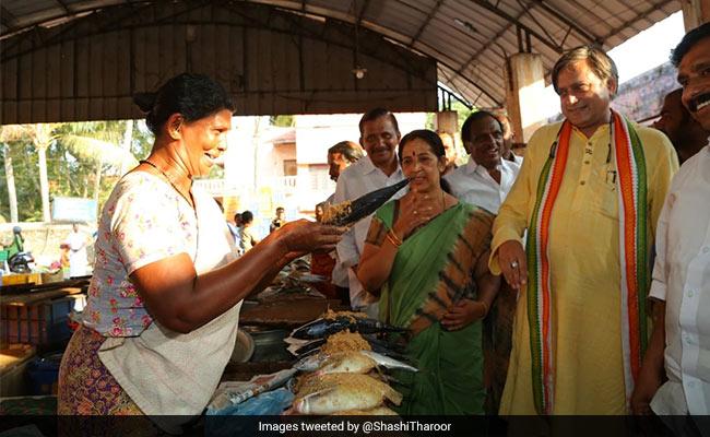 Shashi Tharoor's 'Squeamishly Vegetarian' Tweet Caught In Farrago Of Jabs