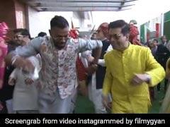 विवादों के बाद साथ डांस करते दिखे करण जौहर-हार्दिक पांड्या, आकाश अंबानी की शादी का Video वायरल
