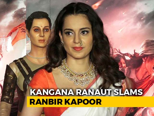 Video : Irresponsible To Not Discuss Politics: Kangana Hits Out At Ranbir