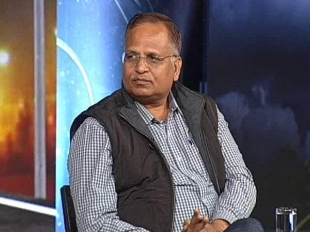 Video : We Have Lit Up 16,000 Points In Delhi: Satyendar Jain, Transport Minister