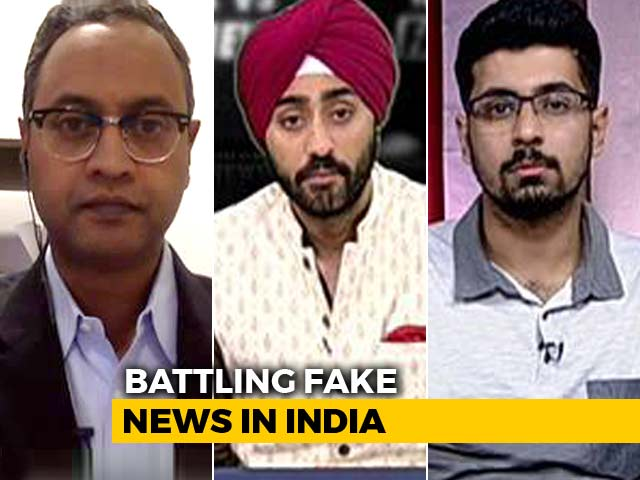 Video : Who Is The Fake News Watchdog This Election?