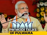 Video : After Massive Roadshow In Varanasi, PM Talks Of Pulwama
