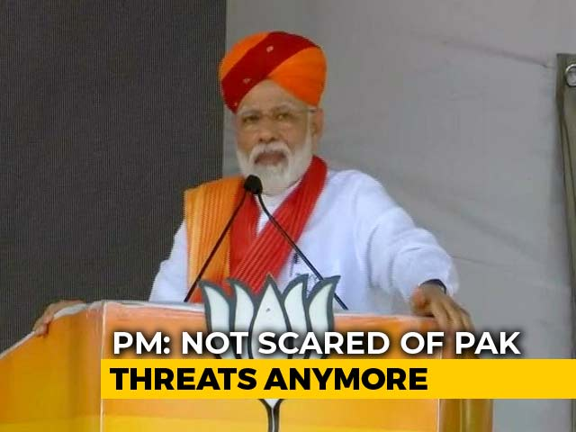 "Video : PM Raises Pak ""Nuke Button"" During Campaign, Asks ""Is Ours For Diwali?"""