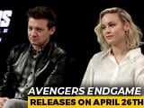 Video: Brie Larson & Jeremy Renner On <i>Avengers Endgame</i>, Fans & More