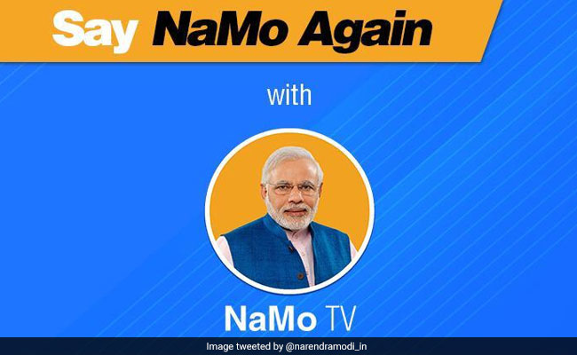 NaMo TV Quietly Goes Off Air As Lok Sabha Elections End