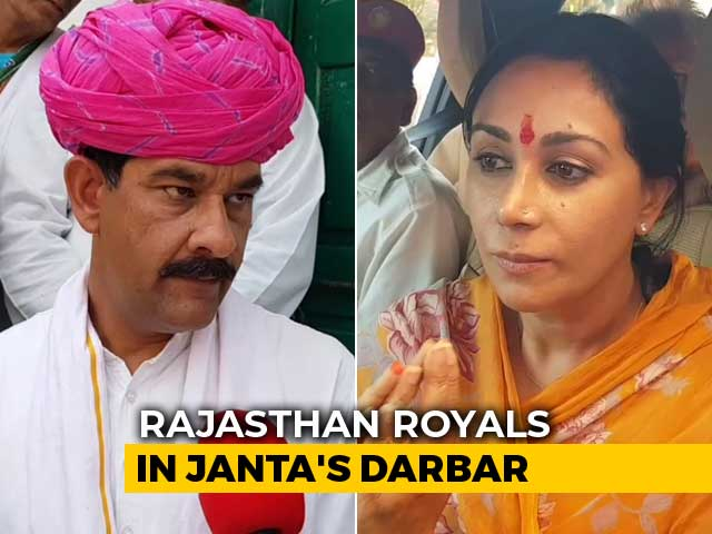 Video : As Rajasthan's Royals Hit Campaign Trail, Voters Are King
