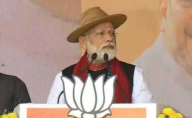 अरुणाचल प्रदेश में पीएम मोदी ने बोला हमला: कांग्रेस का यह घोषणा-पत्र नहीं, 'ढकोसलापत्र' है, क्योंकि यह भी भ्रष्ट और ढकोसलों से भरा है