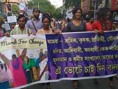 """We Want Freedom"": In Kolkata, Over 2,500 March For Change"