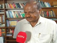 "HD Kumaraswamy's Advice After ""Controversial"" Remarks By JDS Leader"