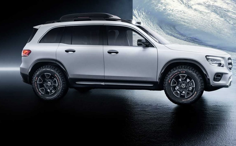 Auto Shanghai 2019: Mercedes-Benz GLB Concept Showcased