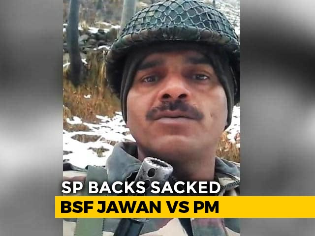 Video : Sacked Soldier Tej Bahadur Yadav Named Samajwadi's Varanasi Candidate