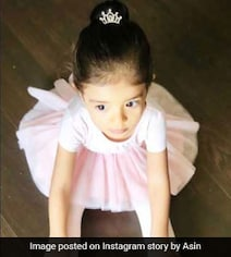 Asin's Daughter Arin, 18-Months-Old, Is The Cutest Ballerina Ever