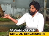 "Video : ""Don't Like To Use The Word 'King' Or 'Kingmaker'"": Pawan Kalyan"