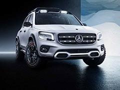 Auto Shanghai 2019: Mercedes-Benz GLB Concept Showcased