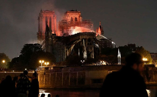 Some Notre-Dame Treasures Saved By French Firefighters