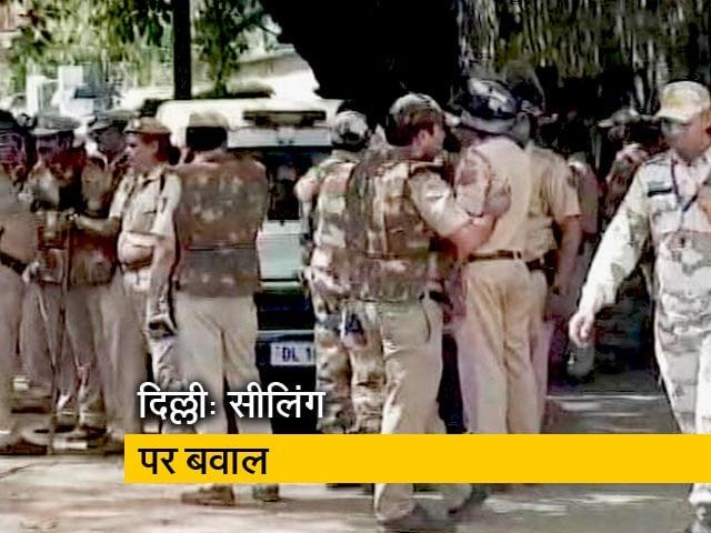 Video : दिल्ली के मायापुरी इलाके में सीलिंग के दौरान हंगामा