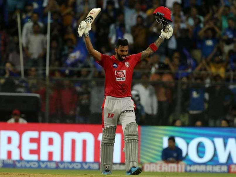 KL Rahul Hits His First IPL Century