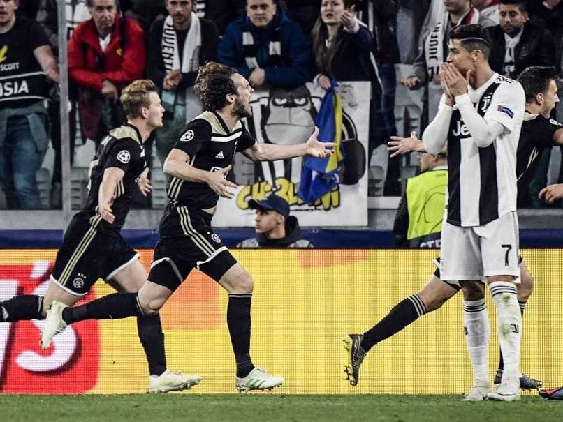 289a0b23d1d Ajax Stun Cristiano Ronaldo s Juventus To Reach Champions League ...